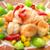 景徳鎮 - 料理写真:エビとミニ青梗菜の塩炒め