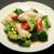 永利 - 料理写真:イカとブロッコリーの塩炒め さっぱり塩味でとてもヘルシー