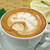 Hona Cafe - 料理写真:Hona Cafe ロゴのカプチーノ★