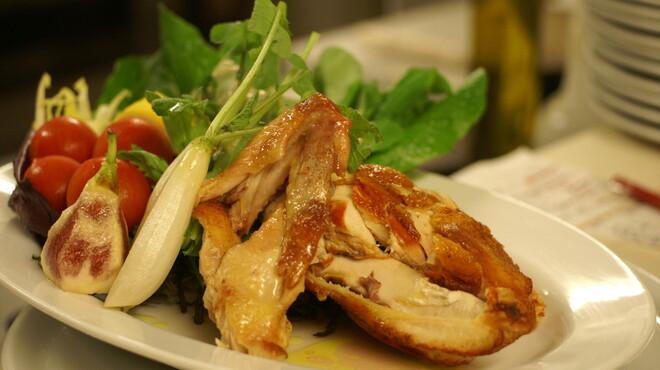 ピッツェリア・ギタロー - 料理写真:儀太郎軍鶏のロースト