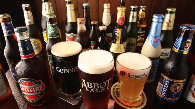 アボットチョイス - 料理写真:生ビール7種類。瓶ビール100種類以上!