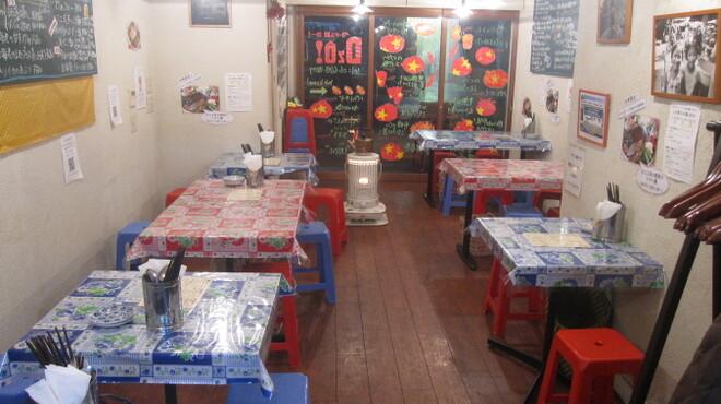ベトナム屋 DZO! - 内観写真:こじんまりした店内は貸切にピッタリ。Max35名様。