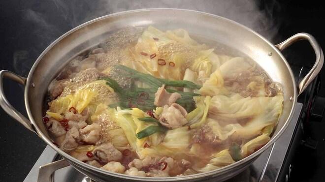 九州酒場 - 料理写真:博多もつ鍋