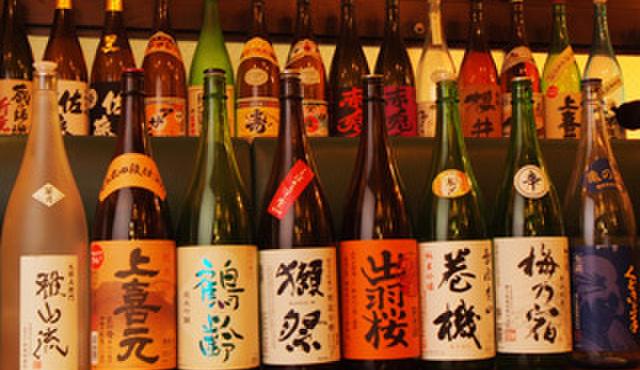 りある - 料理写真:地酒各種