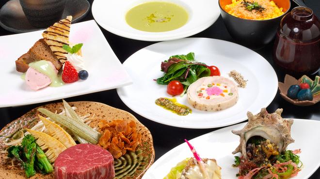 ステーキ円山 - 料理写真:春の特別ディナー