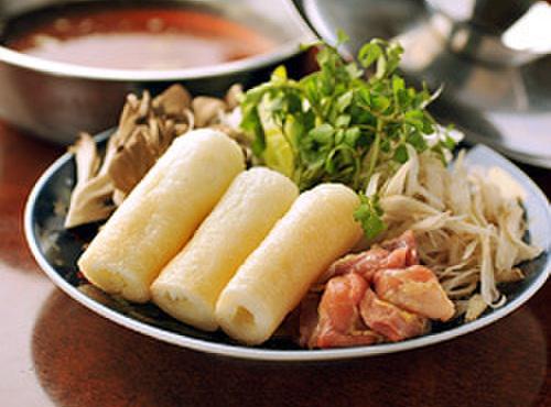比内や - 料理写真:きりたんぽ鍋 自家製コトコト6時間スープ