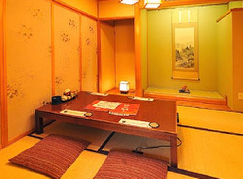 比内や - 内観写真:豪華個室・全室床の間付(50名様まで)