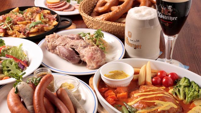 JSレネップ - 料理写真:ドイツの家庭料理を多数ご用意!宴会コースもあります。