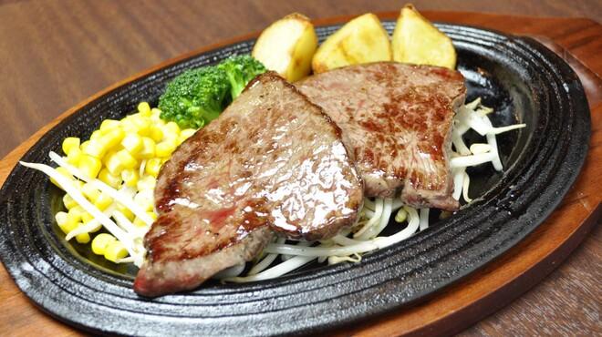 銭場精肉店 - 料理写真:和牛ランボソステーキ  2100円