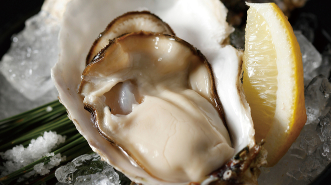 エンガワ - 料理写真:生牡蠣