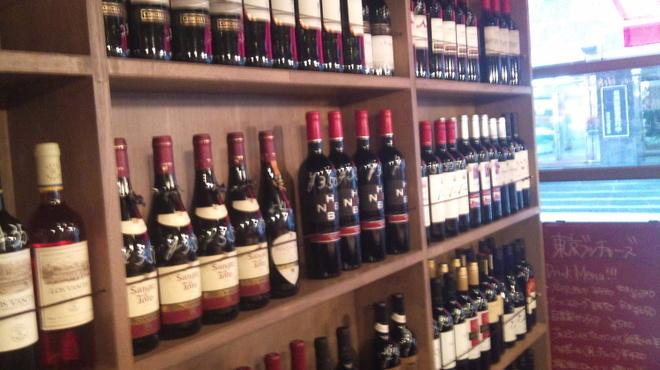 東京ブッチャーズ - その他写真:自分の好きなワイン選んじゃって!