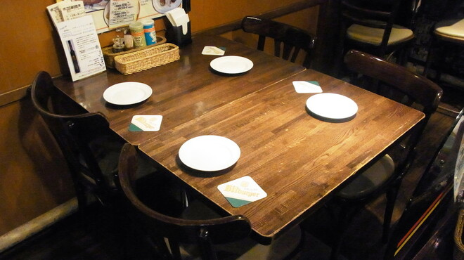 JSレネップ - 内観写真:3~4名様のお席イメージ