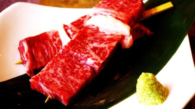 もんじろう - 料理写真:黒毛和牛サーロイン
