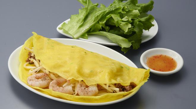 ハノイのホイさん - 料理写真:バインセオ~ベトナム風お好み焼き