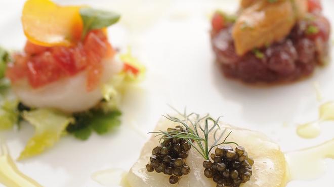 レオーネ・マルチアーノ - 料理写真:見た目も鮮やかな 本格料理を!