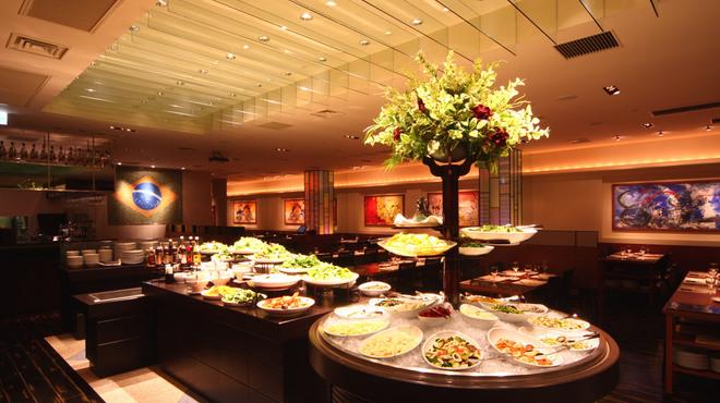 バルバッコア - 内観写真:開放的な店内は広々120席!色々なタイプの席をご用意しています♪