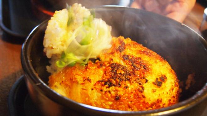 和の中 - 料理写真:石焼餃子チャーハン