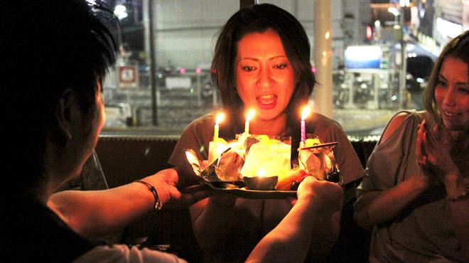 ブルーパパイアタイランド - 内観写真:ケーキ、花束のご用意も承ります☆要予約☆