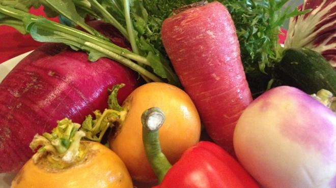 ソーセージレストランSMOKY - 料理写真:旬のお野菜も随時入荷しております。