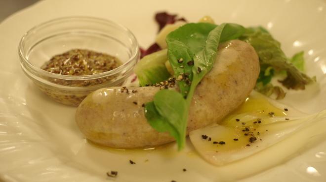 ピッツェリア・ギタロー - 料理写真:儀太郎軍鶏の自家製ソーセージ