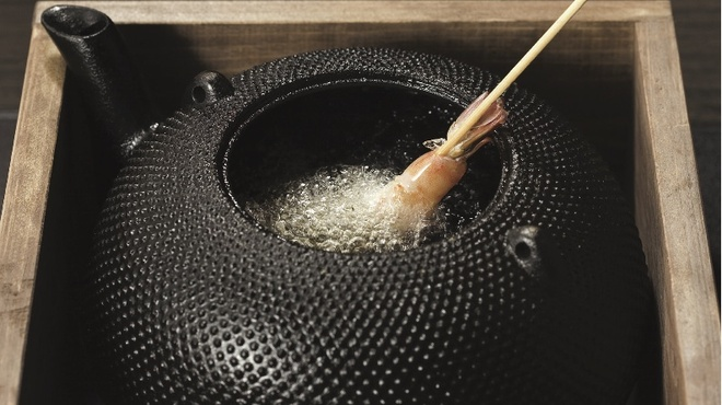 楽天庵 - 料理写真:純正の胡麻油を使用しておりますので、あっさりとしたてんぷらを堪能できます。