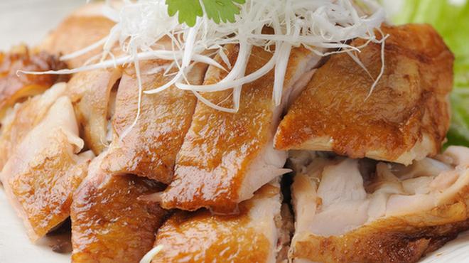 劉家荘 - 料理写真:焼鶏(一人前/小皿)