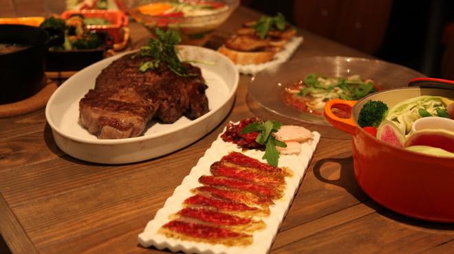 グリルド エイジング・ビーフ - 料理写真:ご宴会は4名様から承っております。