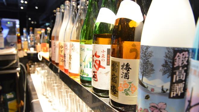 恵比寿BAR - 料理写真:自慢の焼酎は100種類?