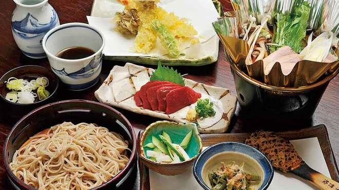 みよ田 - 料理写真:そば屋におまかせコース2,160円