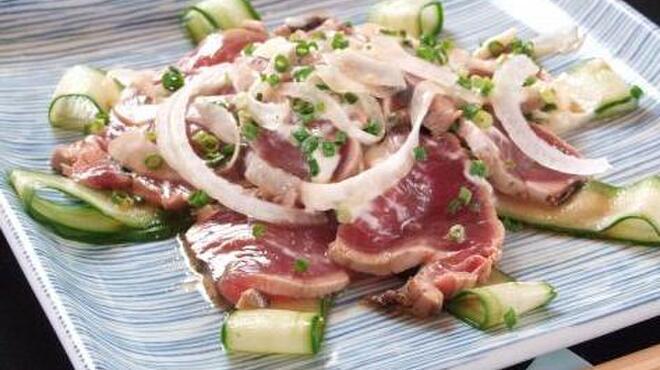 凪 - 料理写真:カツオのカルパッチョ