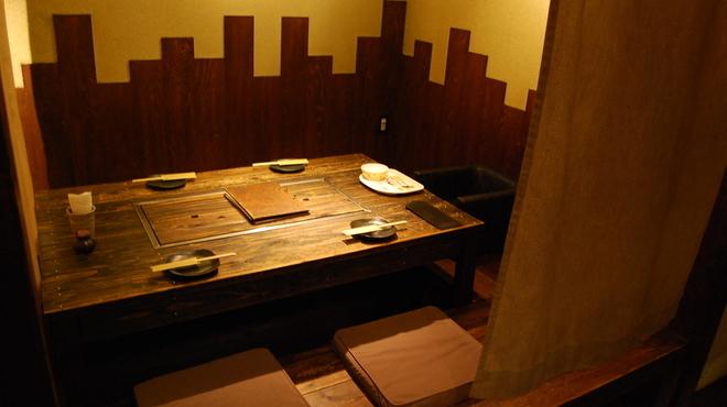 紀州屋 - 内観写真:掘りごたつ式個室座敷 12席