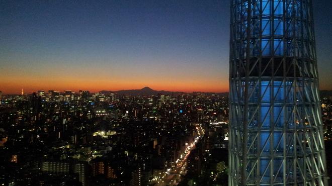 國見 - 内観写真:空気が澄んいて、富士山がはっきり見えました。