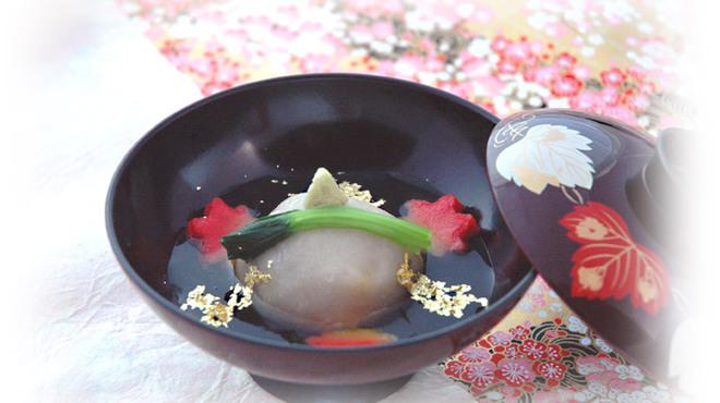 金沢まいもん寿司 珠姫 - 料理写真:加賀蓮根饅頭