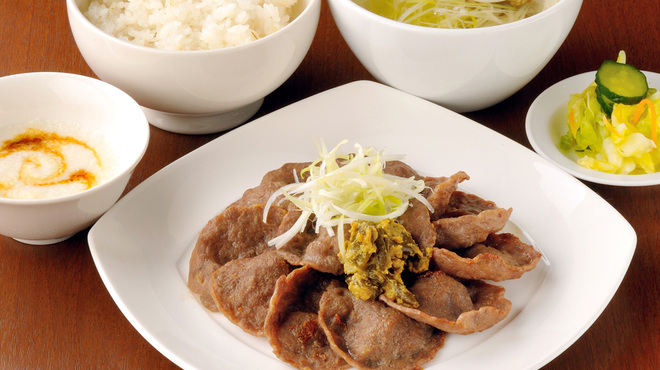 伊達の牛たん本舗 - 料理写真:通定食-薄切り-