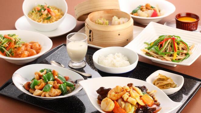 TAO-LI ~桃李~ - 料理写真:桃李セレクション(ハーフサイズの麺・チャハンと料理1品とデザートのセット)