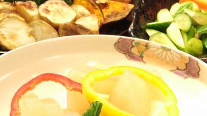京都北山ダイニング - 料理写真:旬な野菜をふんだんに…【和食】農家から仕入れる旬な野菜をメインに使用したお料理。上品な京都らしい味付けが、お母さんにも大好評◎★ビュッフェに込み★
