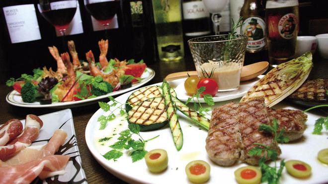 グラード - 料理写真:お料理はわがままを聞いてもらえるので、交渉してみては?