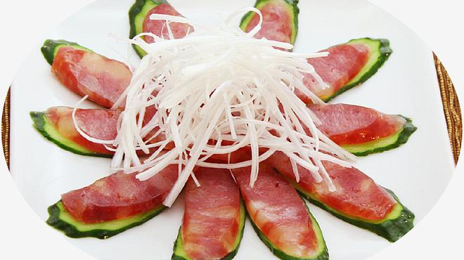 三百宴や - 料理写真:腸詰