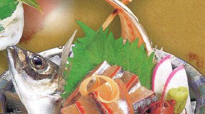 中の濱 - 料理写真:あじ姿造り