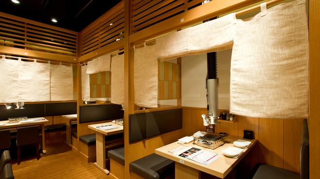 ぴゅあ - 内観写真:4名様の半個室
