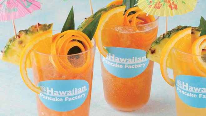 Hawaiian Pancake Factory - 料理写真:トロピカルティー・フルーツジュース