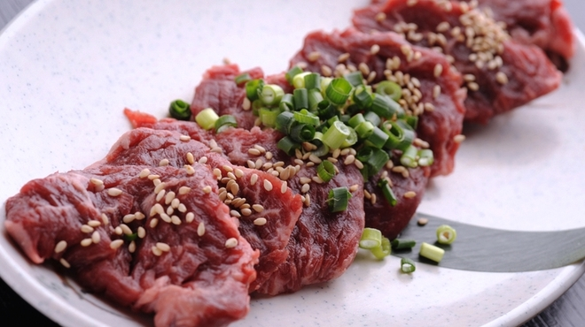 肉の町 - 料理写真:お子様にも大人気『ハラミ』