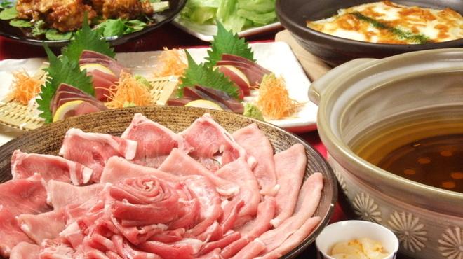 花みずき - 料理写真:糸島雷山イデア豚しゃぶしゃぶコース