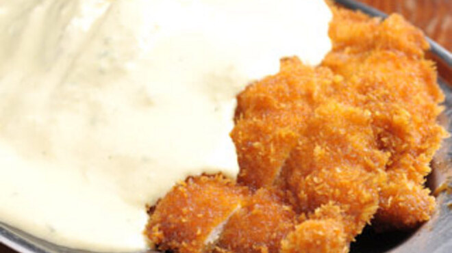 とりとり亭 - 料理写真:とりとり亭名物チキン南蛮フライ!一度食べてみるべし!!