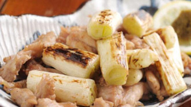 とりとり亭 - 料理写真:おすすめ「せせり焼き」。ネギを加えると更に美味い♪