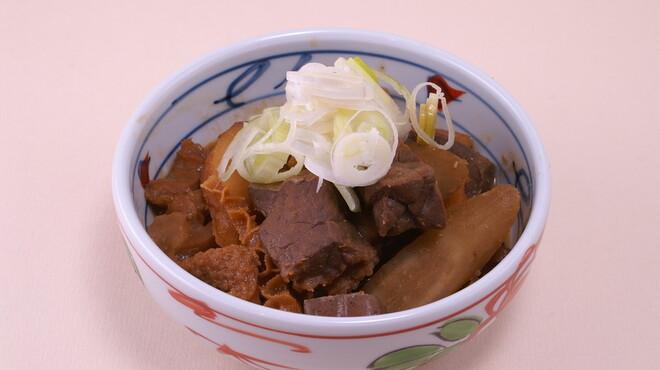 串揚げ じゅらく - 料理写真:絶品もつ煮。これは食うべし!