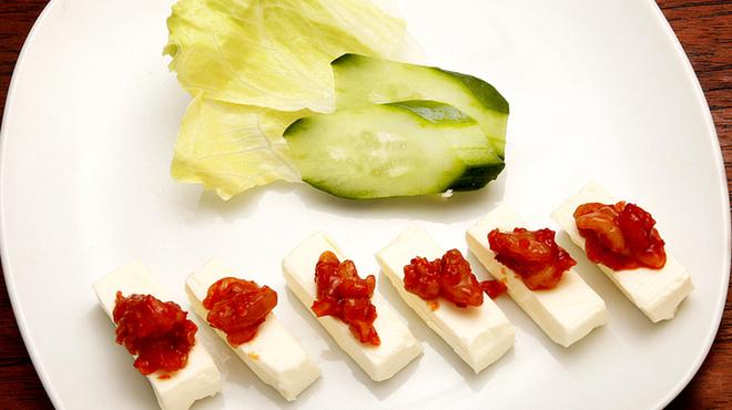 ホタル - 料理写真:ワインにあいます! チーズ&チャンジャ