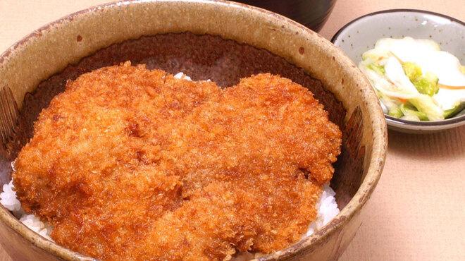 和食 うどんや - 料理写真:たれかつ丼