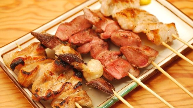 仲垣 - 料理写真:当店のウリは何と言っても「串焼き」!