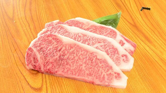 ハンバーグ・ステーキ宮崎亭 - 料理写真:宮崎産和牛 A5ランク サーロインステーキ